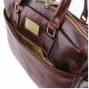 Сумка для документов Tuscany Leather Urbino TL141894 dark brown
