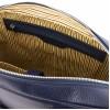 Кожаная сумка для ноутбука Tuscany Leather Treviso TL141986 dark blue