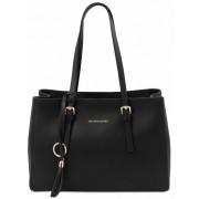 Женская кожаная сумка Tuscany Leather TL Bag TL142037 black