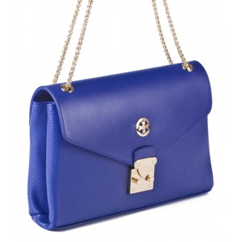 Женский кожаный клатч Narvin 9932 N.Polo Ultra Blue