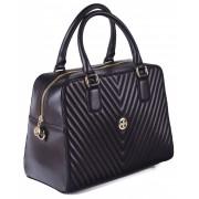 Женская кожаная сумка Narvin 9968 N.Armani Black