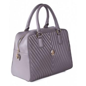 Женская кожаная сумка Narvin 9968 N.Armani Dove