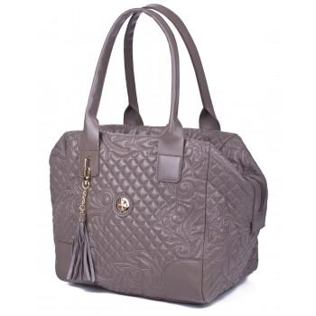 Женская кожаная сумка Narvin 9985 N.Gabrielle Sand