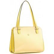 Женская кожаная сумка Narvin 9995 N.Polo Lemon