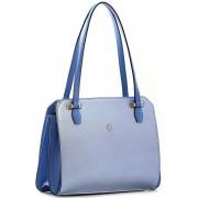Женская кожаная сумка Narvin 9995 N.Polo Light Blue