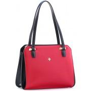 Женская кожаная сумка Narvin 9995 N.Polo Red