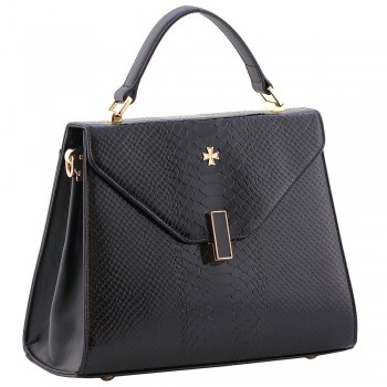 Женская кожаная сумка Narvin 9997 N.Anaconda Black