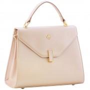 Женская кожаная сумка Narvin 9997 N.Polo Powder