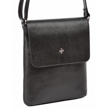 Сумка через плечо NARVIN (Vasheron) 9494-N.Polo Black/Prada Black