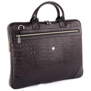 Деловая сумка NARVIN (Vasheron) 9742-N.Bambino Black
