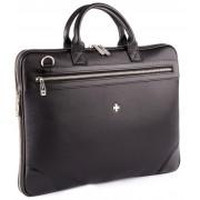 Деловая сумка NARVIN (Vasheron) 9742-N.Polo/Black
