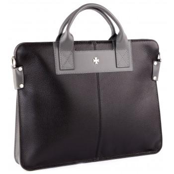 Деловая сумка NARVIN (Vasheron) 9748-N.Polo Black