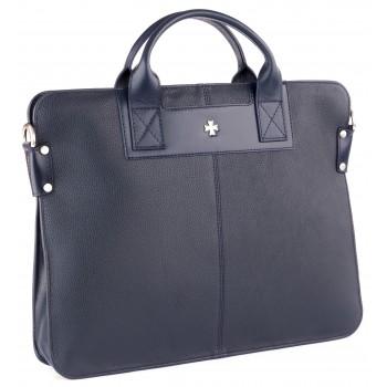 Деловая сумка NARVIN (Vasheron) 9748-N.Polo D.Blue