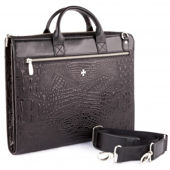 Деловая сумка NARVIN (Vasheron) 9749-N.Bambino Black