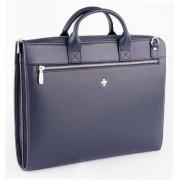 Деловая сумка NARVIN (Vasheron) 9749-N.Polo D.Blue
