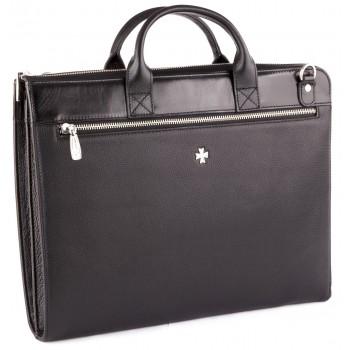 Деловая сумка NARVIN (Vasheron) 9749-N.Polo/Black