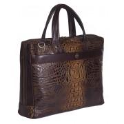 Деловая сумка NARVIN (Vasheron) 9752-N.Bambino/Olive
