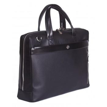 Деловая сумка NARVIN (Vasheron) 9752-N.Polo/Black
