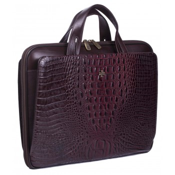 Деловая сумка NARVIN (Vasheron) 9753-N.Bambino/Burgundy