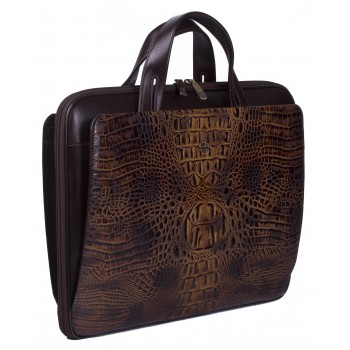 Деловая сумка NARVIN (Vasheron) 9753-N.Bambino/Olive