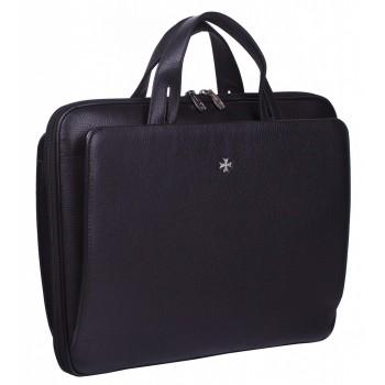 Деловая сумка NARVIN (Vasheron) 9753-N.Polo/Black