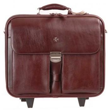 Дорожный портфель Vasheron 9806 Burgundy