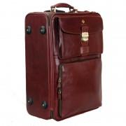 Дорожный чемодан Vasheron 9830 Burgundy