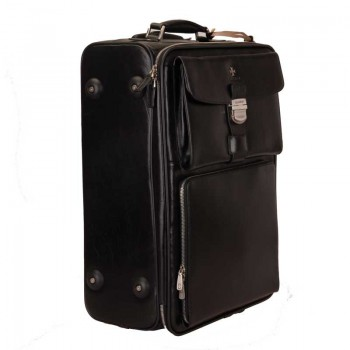 Дорожный чемодан Vasheron 9837 Black