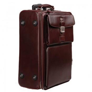 Дорожный чемодан Vasheron 9837 Burgundy