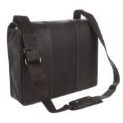 Большая сумка Visconti Mucho 16019XL oil brown