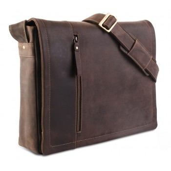 Сумка для ноутбука Visconti Foster 16073XL oil brown