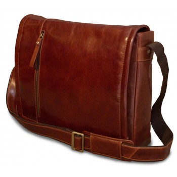 Сумка для ноутбука Visconti Enzo VT5 vintage tan