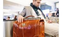 Кожаный саквояж как альтернатива чемодану