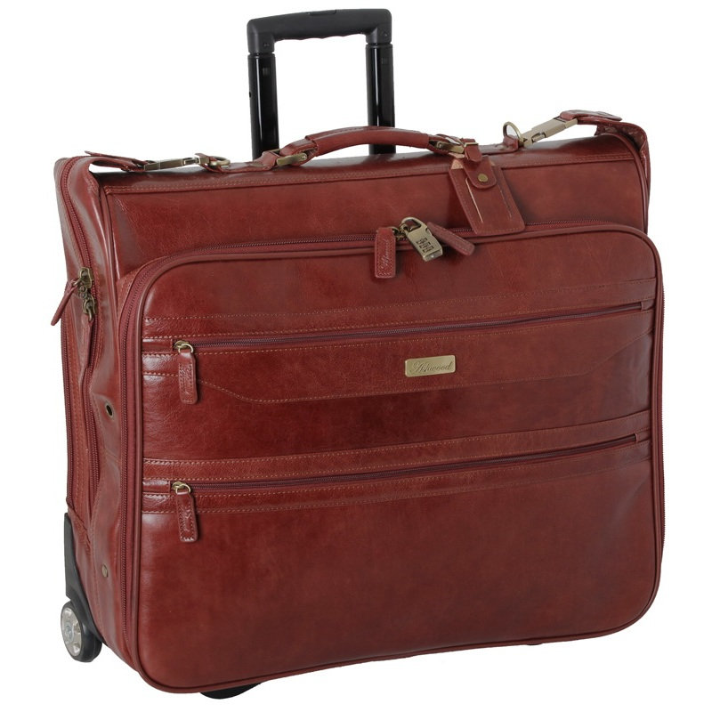 Кожаный портплед на колесах Ashwoos Leather